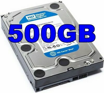"WD 500GB 3.5"" Inch PC/Desktop SATA HDD Internal/Int Hard Disk/Disc Drive HD"