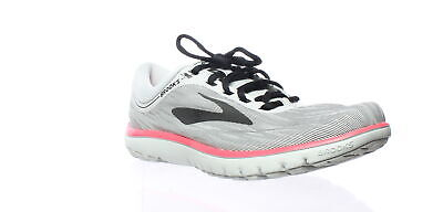 caab64e75cb Brooks Womens Pureflow 7 Grey Black Pink Running Shoes Size 9.5 (206471)
