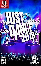 NEW Just Dance 2018 Video Game for Nintendo Switch $54.99