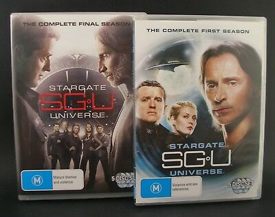 STARGATE UNIVERSE Complete TV Series Seasons 1-2 DVD Set Special Features