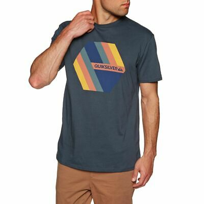 Quiksilver Retro Right Mens T-shirt - Blue Nights All Sizes