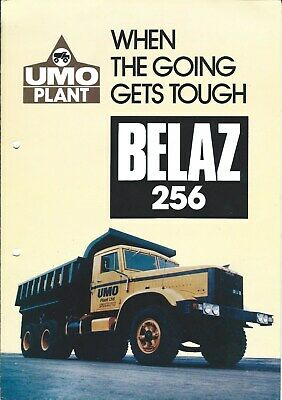 Equipment Brochure - Belaz - 256 - BM - Dump Truck - UMO Plant - 3 items (E5024)