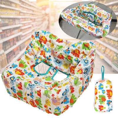 High Chair Grocery Trolley Shopping Cart Cover Baby Toddlers Safety Harness Safe