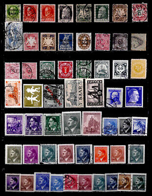 Germany, Area, States, Danzig, Saar, Occupation Etc: Stamp Collection