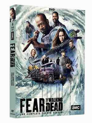 Fear the Walking Dead complete Season 4 series fourth dvd new + FREE TRACKING