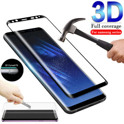 For Samsung Galaxy S10 / Note 9 Full Coverage 3D Tempered Glass Screen Protector