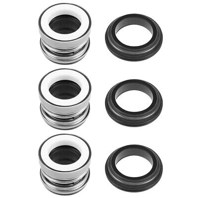 Mechanical Shaft Seal Replacement for Pool Spa Pump 3pcs 104-15