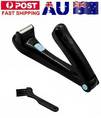 AU Electric Back Hair Shaver Hair Razor Cutter Remover DIY Groomer Men Easy Fast