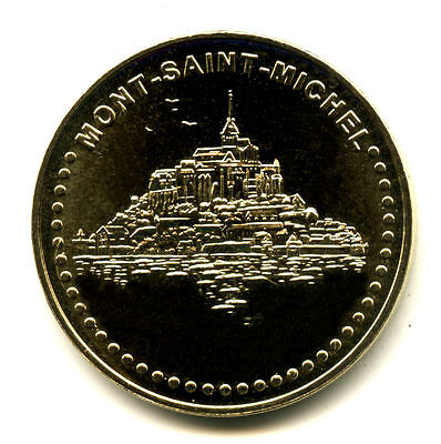 50 MONT-SAINT-MICHEL Le Mont 3, Face à points, 2019, Monnaie de Paris