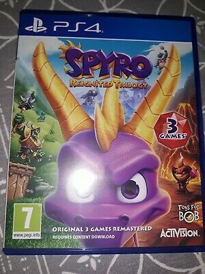 Spyro Reignited Trilogy Para Ps4 Version Fisica Como Nuevo
