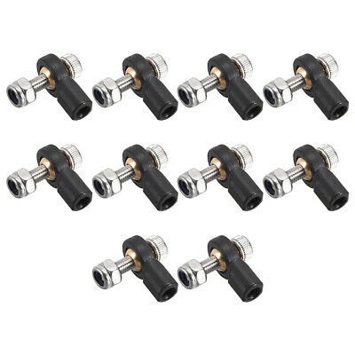 12x M3 3mm Tie Rod End Lever Steering Ball Head Linkage End fr RC Car Boat Robot
