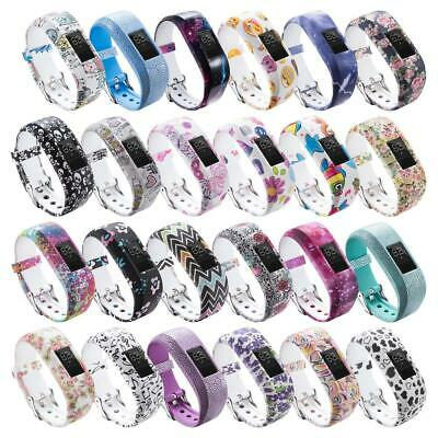 Silicone Bracelet w/ Clasp Replacement Wristband Band Strap FOR Garmin Vivofit 4