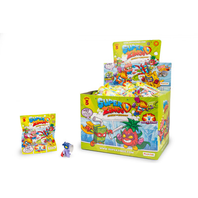 Superzings PACK 10 Super Zings Serie 3 Sobre individual envio 24/48horas