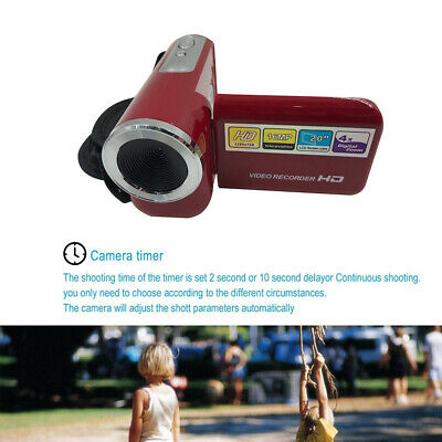 16MP Mini Digital Camera DV Camcorder 2.0″ LCD 4X Zoom Kids Children Gifts UK