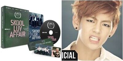 BTS: SKOOL LUV AFFAIR* CD+Folded Poster+Photo Book (Big Hit) Album New K-POP