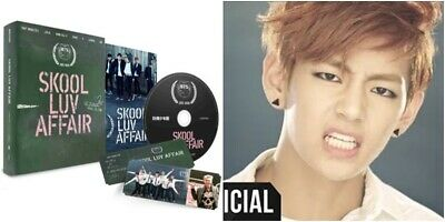 BTS: SKOOL LUV AFFAIR*  Full Package (CD, Big Hit) Bangtan Boys 2nd Mini Album