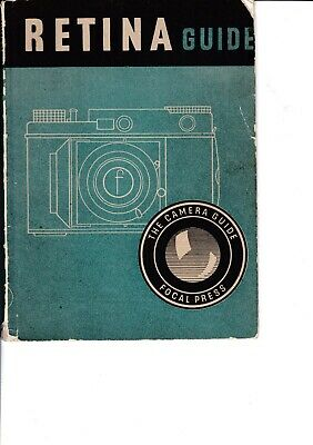 Genuine Vintage 1948 4Th Edition Focal Press Instruction Guide Book Retina