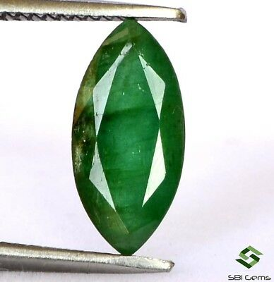Certified Natural Emerald Marquise Cut 11x5.50 mm 1.61 Cts Calibrated Gemstone
