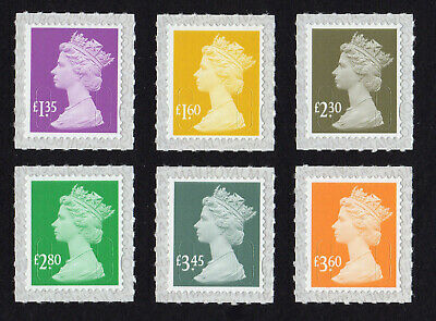2019 M19L MACHINS £1.35, £1.60, £2.30, £2.80, £3.45, £3.60 - SET 6v - options