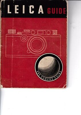 Genuine Vintage 1942 2Nd Edition Focal Press  Guide Book  Leica