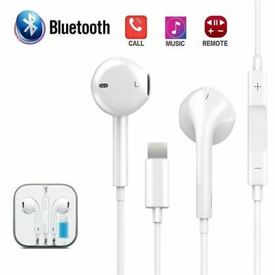 Headphones Wired Bluetooth Earphone for Apple IPhone 7 8 Plus X XR XS Max 10