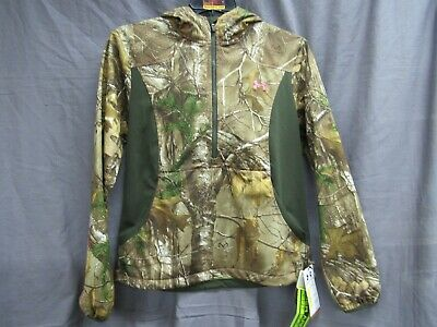 8e7c4b3839a85 Under Armour Storm Women's Speed Freek Hooded Jacket RealTree XTra Size  Medium