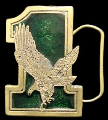 Mf28111 *Nos* Cool Vintage 1975 ***#1 Eagle Logo*** Great American Buckle