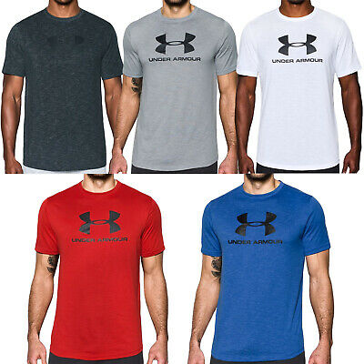 Under Armour UA Mens Sportstyle Loose Fit Gym Training Cotton T-Shirt Tee Top