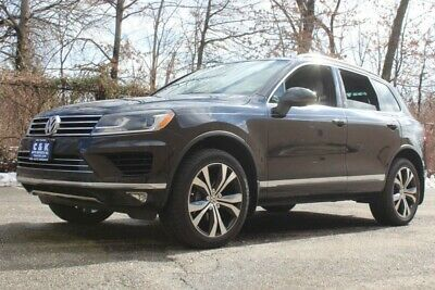 2017 Volkswagen Touareg WOLFSBURG EDITION,NAV,SUNROOF,LTHR HTD SEATS,REAR JUST 8,598 MILES, REAR CAMERA, SELECTABLE DRIVE MODES, LED HEADLAMPS, ALL BLACK