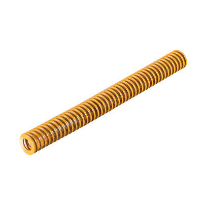 10x100mm Long Spiral Stamping Light Load Compression Mould Die Spring Yellow