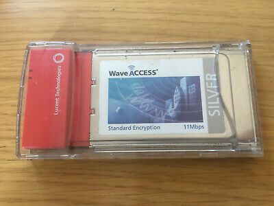 Clé WEP : Lucent WaveACCESS Turbo Silver - network adapter - 11Mbps