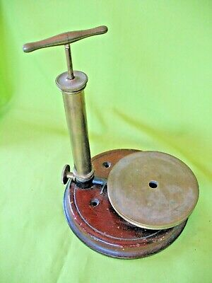 Rare old antique scientific taxidermy small animal bird  euthanasia instrument