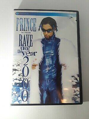 PRINCE In Concert Rave Un2 the Year 2000 Rare OOP DVD Live in Concert Nice
