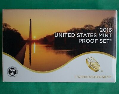 2016 S United States Mint ANNUAL 13 Coin Proof Set Original Box and COA Complete