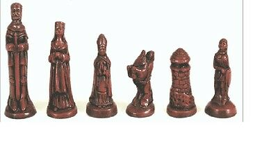 Chess Set Moulds Mould Latex CS1 The Camelot Set