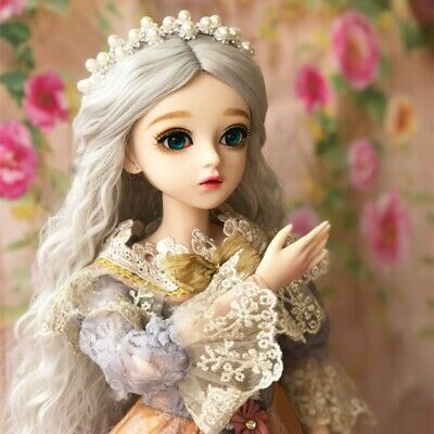 1//6 Bjd Doll Girl green Noia elf Free Face Make UP and Free Eyes Hot Doll
