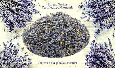 Dried Organic Lavender from Provence - Highly Fragrant 1kg . BV certified 2018