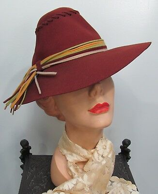 265df8b840544 VINTAGE WOMENS CASABLANCA 100% Wool Jacked Brown - $14.00 | PicClick