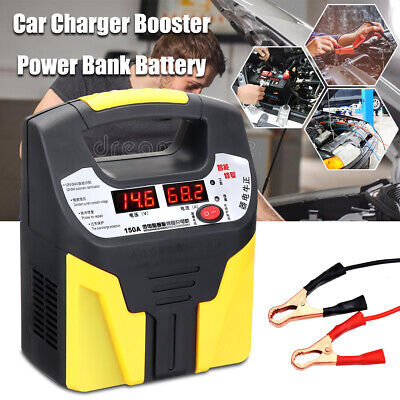 12V-24V 15A 360W Portable Car Battery Charger Booster Automatic Pluse Repair