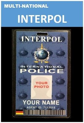 international ID collection... Multi-National Vertical card...<<INTERPOL>>