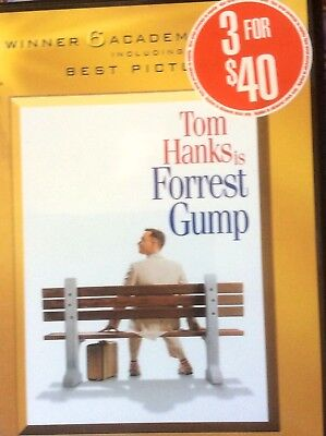 Forrest Gump - Academy Gold Collection (DVD, 2009, 2-Disc Set) - PRE-OWNED