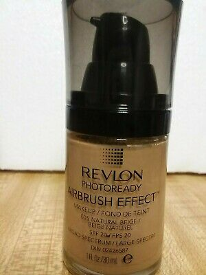 Revlon Photoready Airbrush Effect Makeup Foundation 005 Natural
