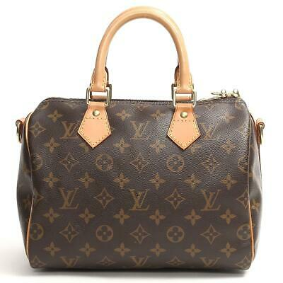 3503fce442d7 LOUIS VUITTON Speedy Bandouliere 25 handbag Boston bag M40390 Monogram Used