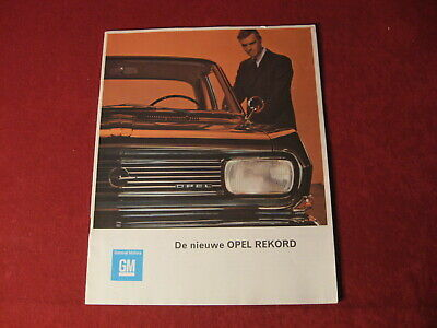 1960's? Buick Opel Showroom Dealership Sales Brochure Original Old GM Catalog