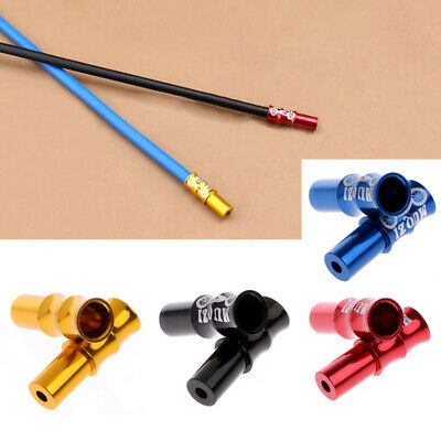 Mounted End Caps Tips Crimps Replacement Shifter Wire Aluminum Alloy 4 Colors