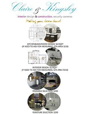 Fast Kitchen Design Service / Located in Toronto / Installation Available