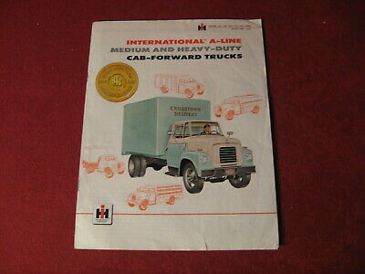 1950's?  IH Truck Rig Semi Sales Brochure Old Booklet Book Bus Catalog Original