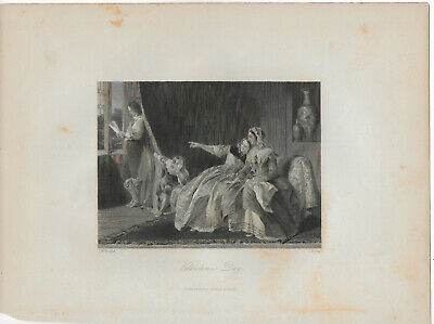 2) Pages from People's Gallery of Engravings, 2nd Series, vol 3 19thC engravings
