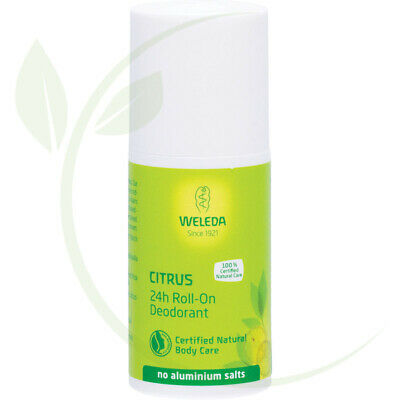 WELEDA - 24h Roll-on Deodorant Citrus - 50ml