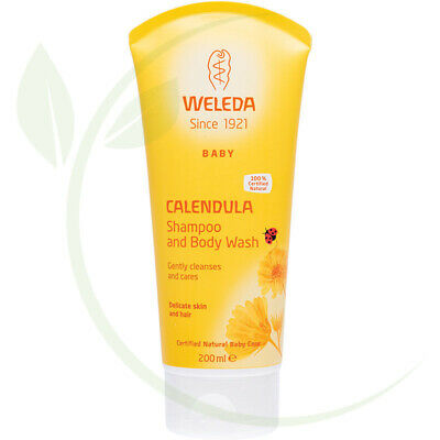 WELEDA - Calendula Shampoo & Body Wash Baby - 200ml